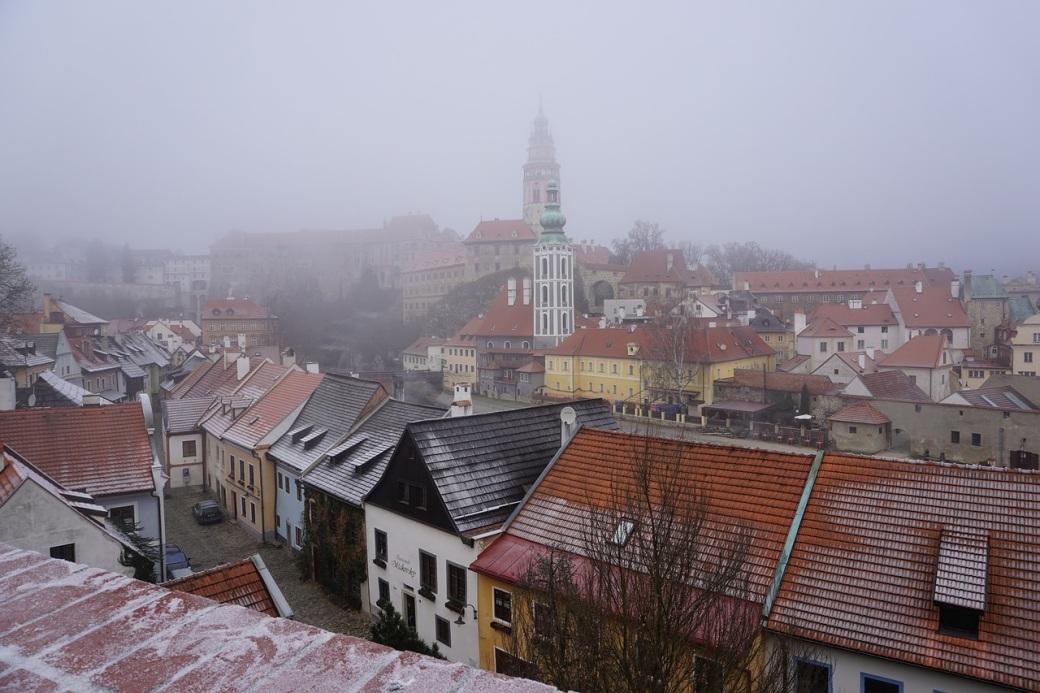 het weer in Praag